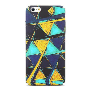 Abstract Rhombus Midnight Case for iPhone iPhone 7 / 8