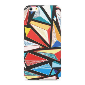 Abstract Rhombus Rainbow Case for iPhone iPhone 7 / 8