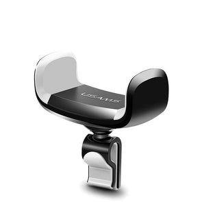 Air Vent Car Mount with Clip White-Black