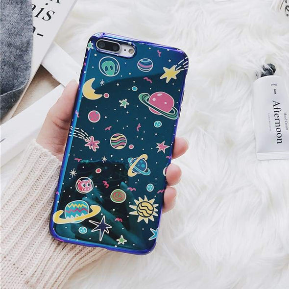 Blu-Ray Colorful Universe Case for iPhone Outer Space / iPhone 7 Plus