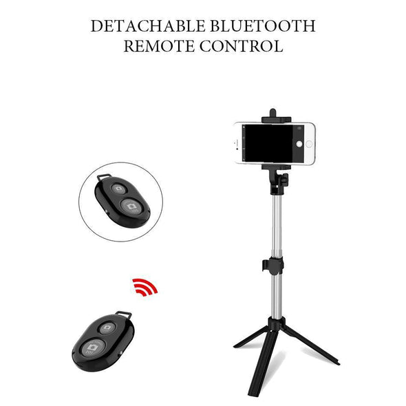 Bluetooth Selfie Stick with Remote Control