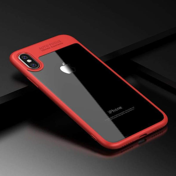 Clarity Case for iPhone Red / iPhone 6 Plus/6s Plus