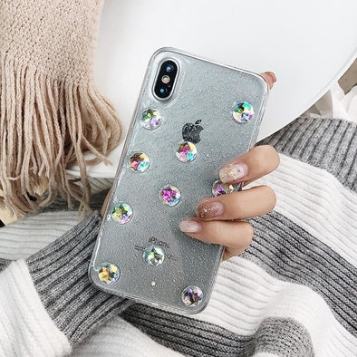 Cosmic Diamond Case for iPhone Clear / iPhone X