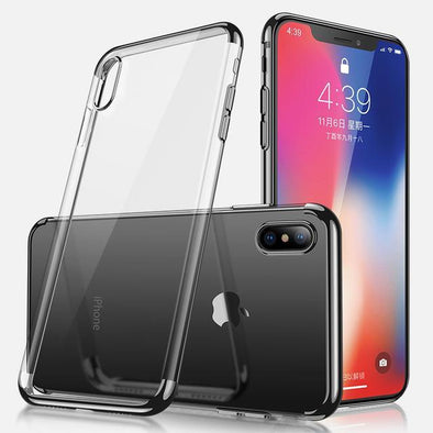 Crystal Plating Case for iPhone Black / iPhone Xr