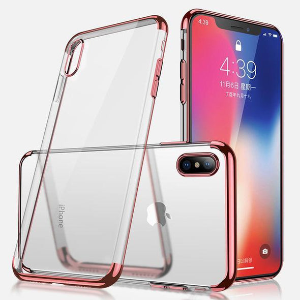 Crystal Plating Case for iPhone Rose Gold / iPhone Xr