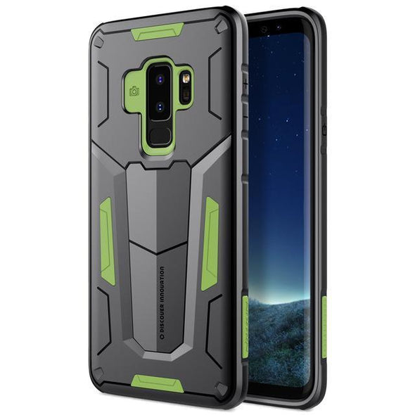 Defender Armor Case for Galaxy Green / Galaxy S9 Plus