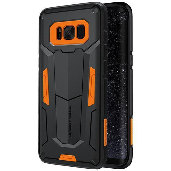 Defender Armor Case for Galaxy Orange / Galaxy S8 Plus