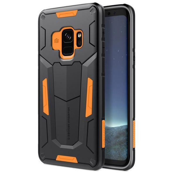 Defender Armor Case for Galaxy Orange / Galaxy S9