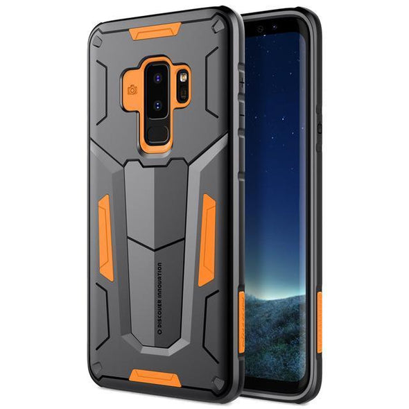 Defender Armor Case for Galaxy Orange / Galaxy S9 Plus