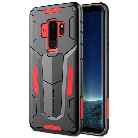 Defender Armor Case for Galaxy Red / Galaxy S9 Plus