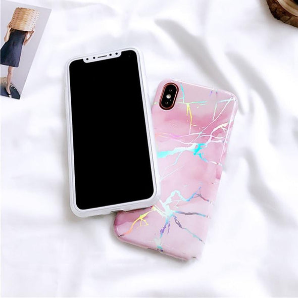 Holo Marble Case for iPhone