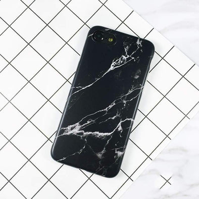 Marble Case for iPhone Black / iPhone 6/6s