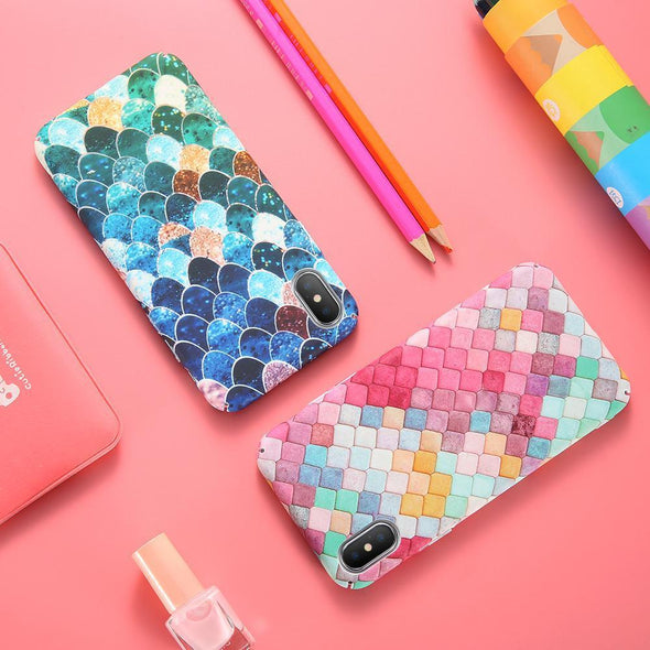Mermaid Scales Case for iPhone