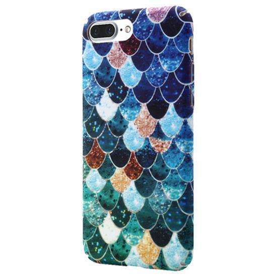 Mermaid Scales Case for iPhone Blue / iPhone 7 Plus / 8 Plus