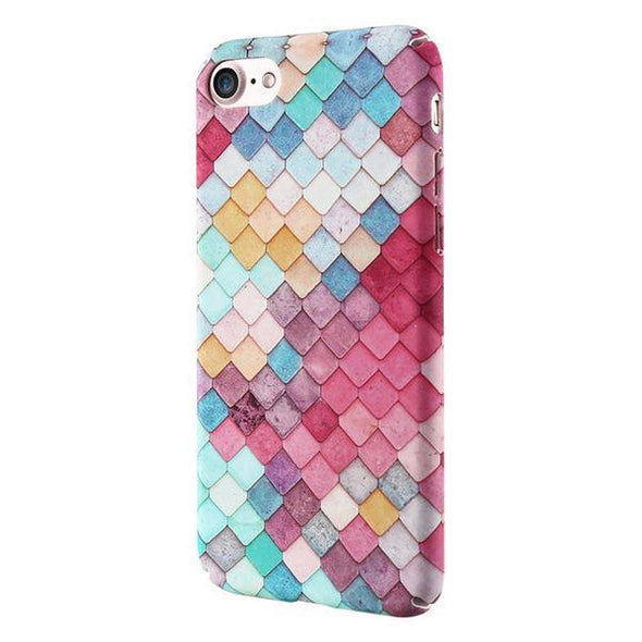 Mermaid Scales Case for iPhone Pink / iPhone 7 / 8