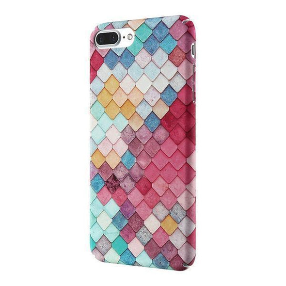Mermaid Scales Case for iPhone Pink / iPhone 7 Plus / 8 Plus