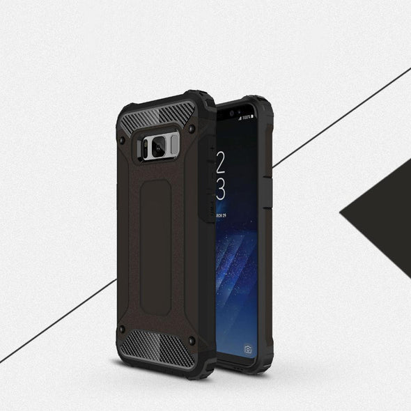 Rugged Armor Case for Samsung Galaxy Black / Galaxy S8