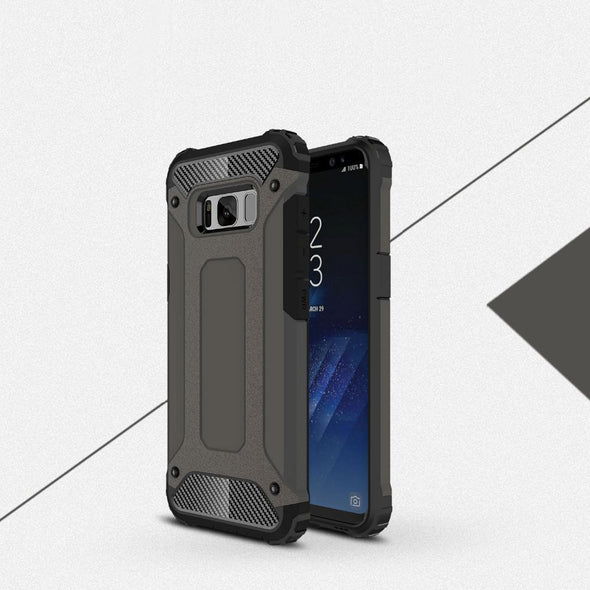 Rugged Armor Case for Samsung Galaxy Dark Grey / Galaxy S8