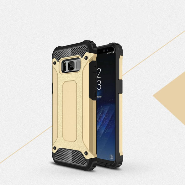 Rugged Armor Case for Samsung Galaxy Gold / Galaxy S8