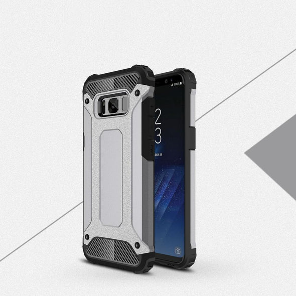 Rugged Armor Case for Samsung Galaxy Grey / Galaxy S8