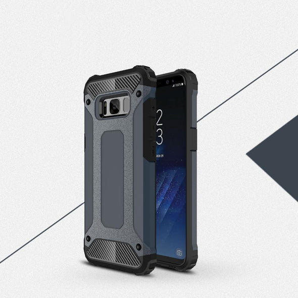 Rugged Armor Case for Samsung Galaxy Navy / Galaxy S8