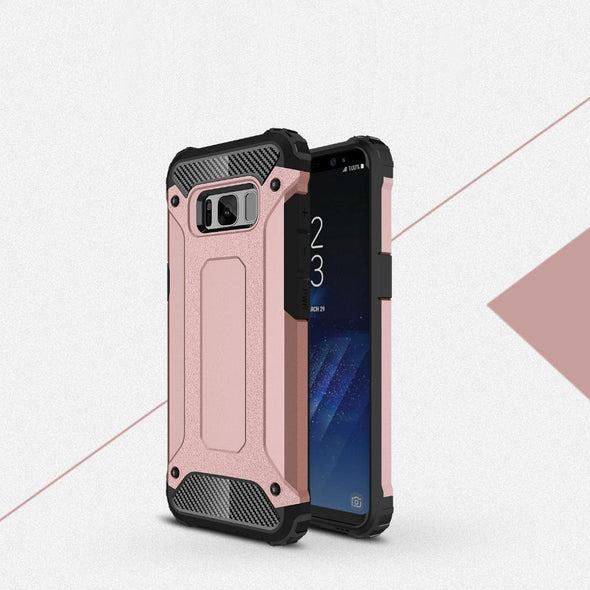 Rugged Armor Case for Samsung Galaxy Rose Gold / Galaxy S8