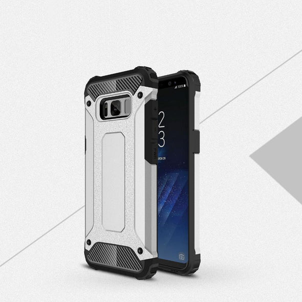 Rugged Armor Case for Samsung Galaxy Silver / Galaxy S8