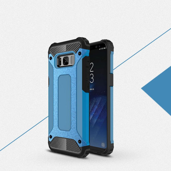 Rugged Armor Case for Samsung Galaxy Sky Blue / Galaxy S8