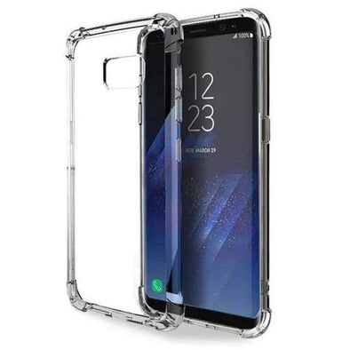Rugged Armor Crystal Clear Case for Samsung Galaxy Note 8