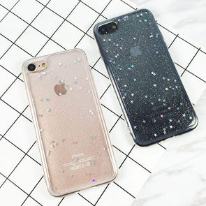 Star Glitter Case for iPhone