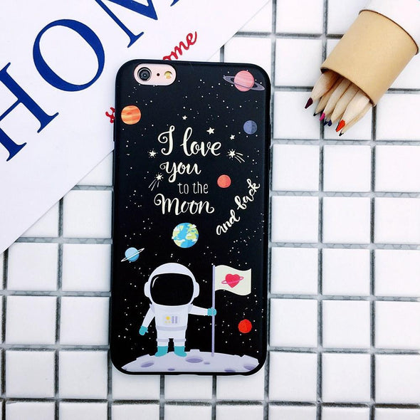 To the Moon and Back Case for iPhone Moon Landing / iPhone 7