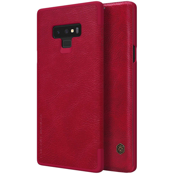 Vegan Leather Flip Case for Galaxy Note 9