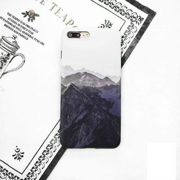 Vintage Nature Case for iPhone Vintage Mountains / iPhone 6 Plus/6s Plus