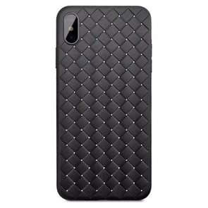 Weaving Pattern Case for iPhone Black / iPhone 7 Plus
