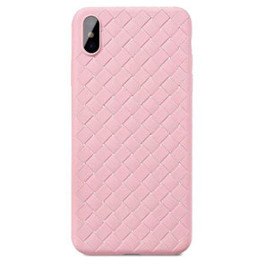 Weaving Pattern Case for iPhone Pink / iPhone 7 Plus