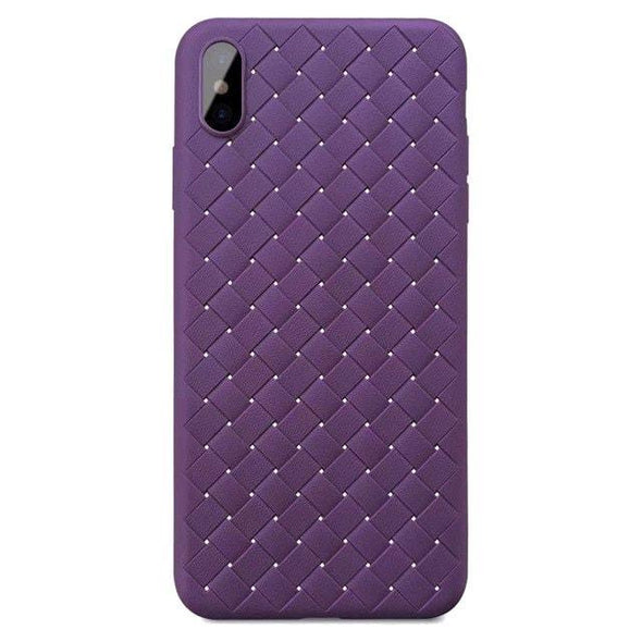 Weaving Pattern Case for iPhone Purple / iPhone 7 Plus