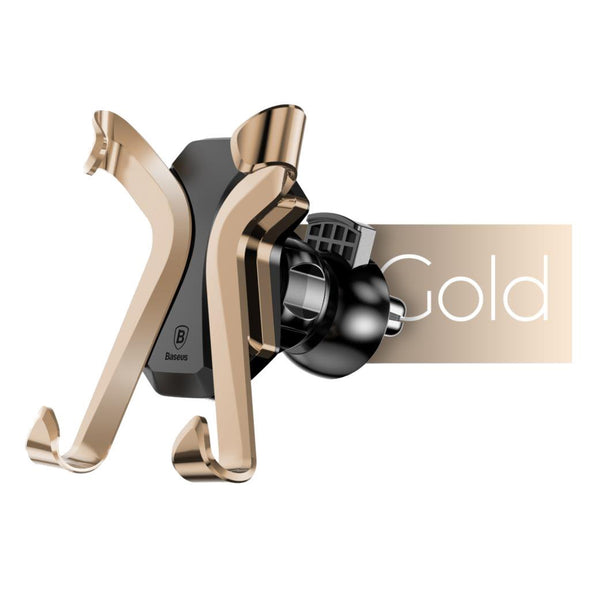X Air Vent Car Mount Holder Gold