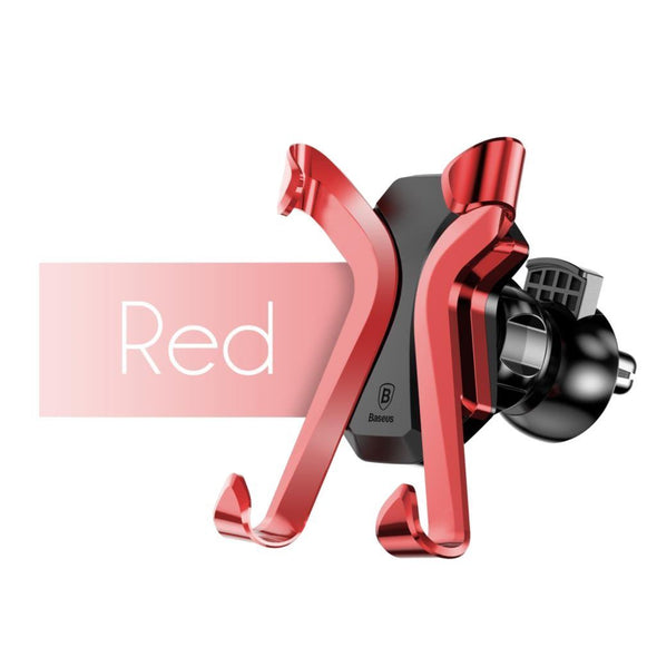X Air Vent Car Mount Holder Red