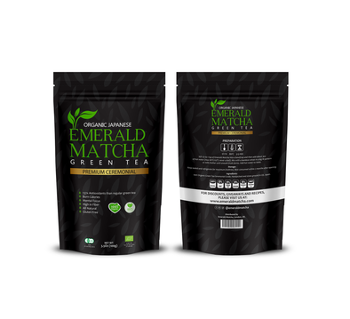 Emerald Matcha Premium Ceremonial Grade 100g- LIMITED EDITION
