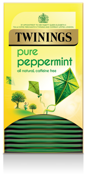 Twinings Pure Peppermint Envelope Teabags 20s