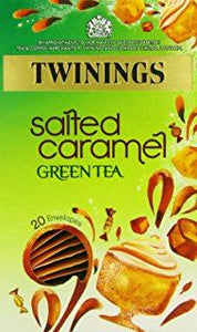 Twinings Green Tea & Salted Caramel Envelope Teabags 20s
