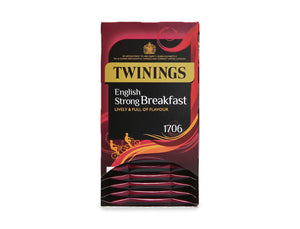 Twinings English Strong Breakfast Envelope Teabags 20s
