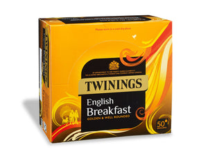 Twinings English Breakfast  Envelope Teabags 50s