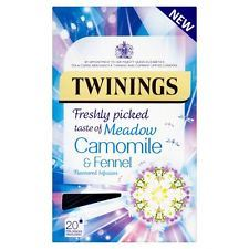 Twinings Meadow Camomile & Fennel Envelope Teabags 20s