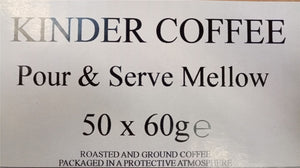 Kinder Pour & Serve Mellow Filter Coffee 50 x 60 g