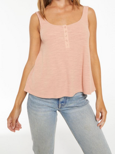 Z Supply Teagan Henley Rose Tank