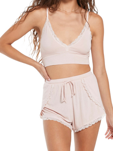Z Supply Only Love Lounge Rose Shorts