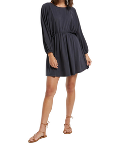 Z Supply Karla Organic Black Dress