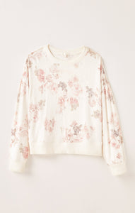 Z Supply Elle Lounge Floral Long Sleeve