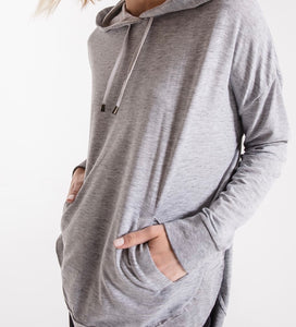 Z Supply Burnout Pullover Hoodie